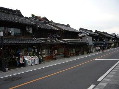 蔵造りの街並み