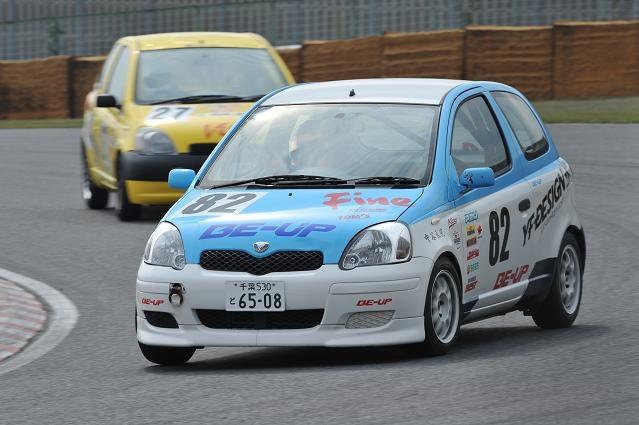 Vitz82号車(筑波レース風景)