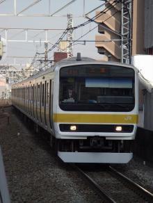 中央線の電車と釜-C503