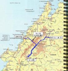 サバの地図