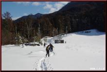 ロフトで綴る山と山スキー-ボトム到着