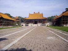 東陵公園 福陵 方城