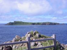 スコトン岬から見えるトド島