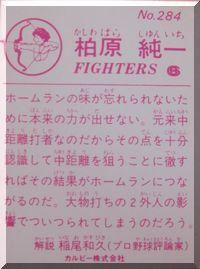 プロ野球カード倶楽部-カシワバラ3