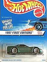 HotWheel CORVETTE 1997 First EDITIONS