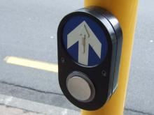 お宝広告館 【まれにみるみれにあむ】-オークランドの信号ボタン