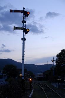 腕木式信号機2