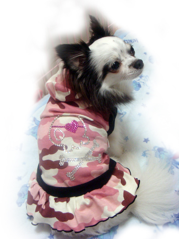 ホットフィックス 犬服 デコ