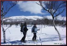 ロフトで綴る山と山スキー-ゴルフ場へ