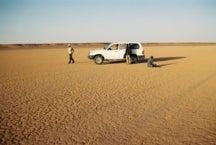 西サハラ砂漠
