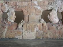 マヤ王座の台座