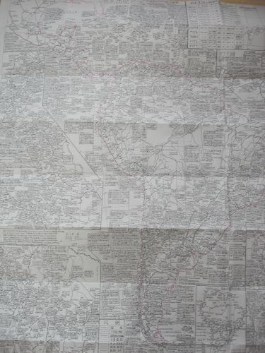 伝説の富さんマップ 中南米最高の地図