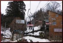 ロフトで綴る山と山スキー-連絡リフト