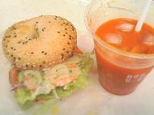 シュリンプ&野菜ジュース