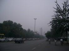 天津の曇り空