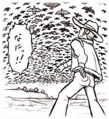 大空を覆うリョコウバトの大群