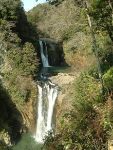 うのこ滝と鷹滝