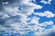 雲が広がる・・