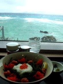 海ブドウ丼3