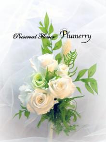 Plumerry(プルメリー)プリザーブドフラワースクール (千葉・浦安校)-ブートニア プリザーブドフラワー