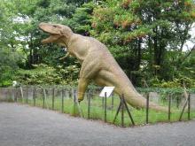 郷土の森ー恐竜