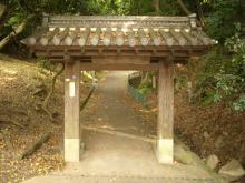 安福寺の門