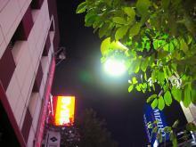 新宿の夜空