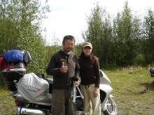石澤さん夫妻