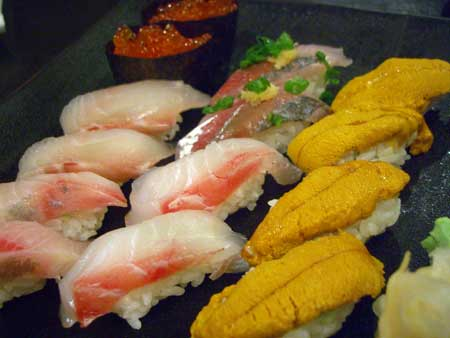 〆はお寿司で!