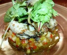 冷製牡蠣のマリネ