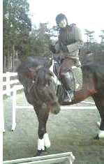 乗馬☆2007.12 ベア号と一緒♪