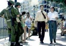 Eric Bana and Geoffrey Rush