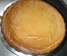 ヨーグルトでなんちゃってチーズケーキ