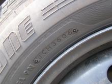 タイヤ製造年月日2