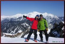 ロフトで綴る山と山スキー-焼岳南峰登頂