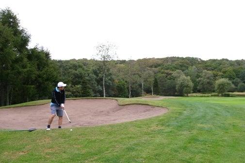 ニドムでゴルフ1