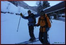 ロフトで綴る山と山スキー-無事帰還