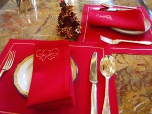 クリスマステーブルウェア
