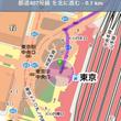 マップアプリの経路検…