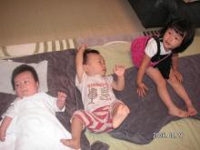 子供3人。
