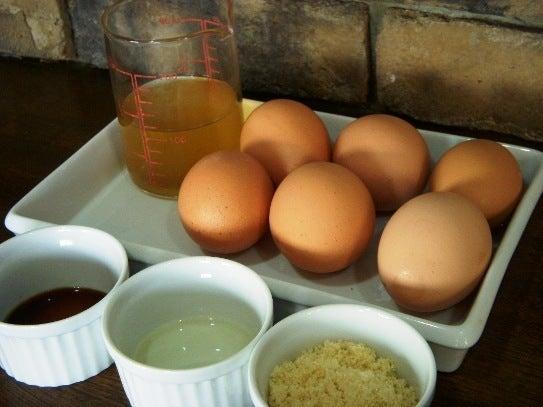長澤家のレシピブログ-だし巻き卵食材
