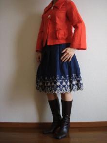 スカートとジャケット
