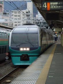 中央線の電車と釜-LE3