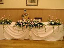 テーブル花2