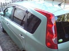 NOTEくん洗車20070311
