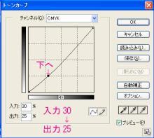 11_トーンカーブCMYK30→25