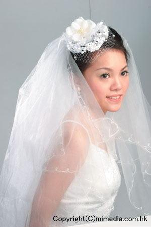 花嫁のヘアスタイル香港☆6