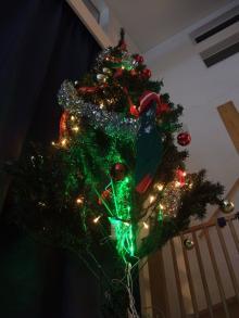THE 中島邸 ~分離発注で挑む建築日記~-クリスマスツリー