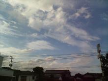 梅雨明け空