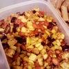 今晩のおかずに:豆と野菜の蒸し煮ですの画像